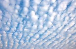 Altocumulus chmura Zdjęcia Stock