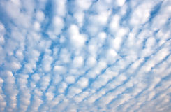 Altocumulus cloud Stock Photos
