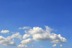 Altocumulus Clouds. In a blue sky Royalty Free Stock Images