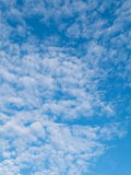 Altocumulus clouds and Blue sky. For background Royalty Free Stock Photos