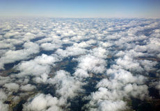 Altocumulus clouds Stock Images