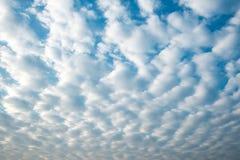 Altocumulus clouds Stock Photography