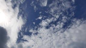 Altocumulus Clouds Time Lapse 07 stock video footage