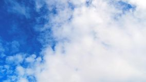 Altocumulus Clouds Timelapse 02 stock footage
