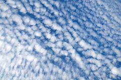 Altocumulus pretty little clouds Stock Images