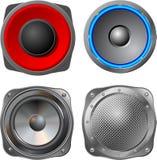 Altofalante audio Fotos de Stock