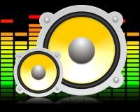 Altofalante audio Foto de Stock