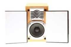 Altofalante audio Fotografia de Stock Royalty Free