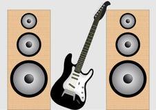 Altofalante da guitarra Imagens de Stock