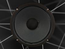 Altofalante do amplificador Fotografia de Stock Royalty Free