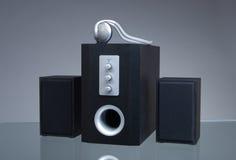 Altofalantes audio imagem de stock