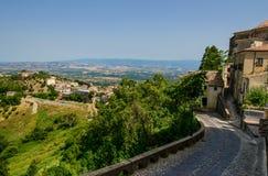 Altomonte et ses environs, Calabre, Italie Photographie stock libre de droits
