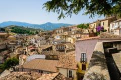 Altomonte - une ville italienne antique Photo libre de droits