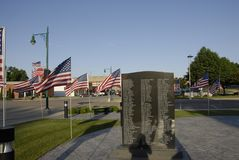 WELCOME TO ALTON GREAT PLAVE TO LIVE. ALTON / IOWA STATE/USA_ Welcome to Alaton great to live in american ruler town and  message for travlers city hall, veteran Stock Photo