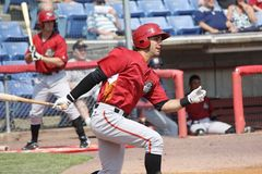 Altoona Curve batter Andrew Lambo Royalty Free Stock Photos