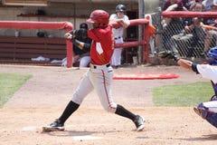 Altoona Curve batter Mel Rojas Jr. Stock Image