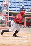 Altoona Curve batter Miguel Perez Royalty Free Stock Photo