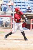 Altoona Curve batter Miguel Perez Royalty Free Stock Photo