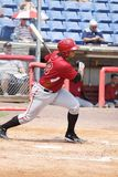 Altoona Curve batter Miguel Perez Stock Photo