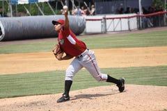 Altoona Curve pitcher Jhonathan Ramos Royalty Free Stock Image