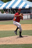 Altoona Curve pitcher Jhonathan Ramos Stock Photo