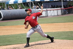 Altoona Curve pitcher Jhonathan Ramos Stock Image