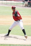 Altoona Curve pitcher Stolmy Pimental Stock Photos