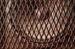 Altoparlante dietro la griglia Fotografia Stock Libera da Diritti