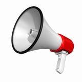Altoparlante o megafono illustrazione di stock