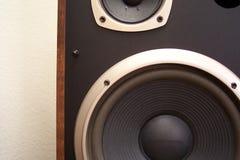 Altoparlante stereo Fotografia Stock Libera da Diritti