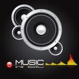 Altoparlante stereo AD ALTA FEDELTÀ - vettore di ENV Fotografia Stock
