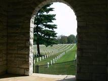 Altoparlanti Rosturum del cimitero nazionale di Nashville Fotografie Stock Libere da Diritti