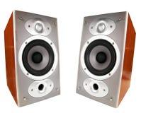Altoparlanti stereo Fotografie Stock Libere da Diritti