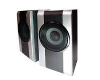 Altoparlanti stereo del calcolatore Fotografia Stock