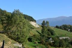 Altopiani armeni Villaggio in montagne Fotografia Stock Libera da Diritti