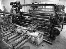 Altopiani di lana del macchinario del mulino di Knockando della Scozia Immagine Stock Libera da Diritti