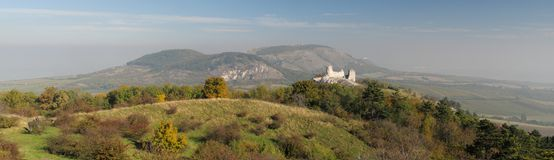 Altopiani di Palava in Moravia nella repubblica ceca Fotografia Stock