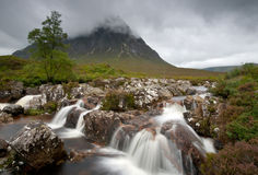 Altopiani Scozia di Glencoe Fotografie Stock