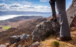 Altopiani scozzesi d'esplorazione immagini stock libere da diritti