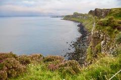 Altopiani scozzesi, l'isola di Skye, Scozia fotografia stock