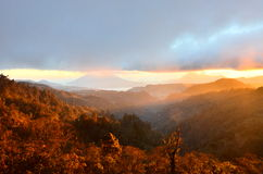 Altopiano di Vulcano del Guatemala Fotografia Stock Libera da Diritti