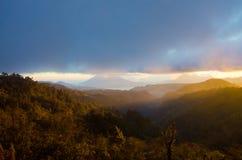 Altopiano di Vulcano del Guatemala Fotografie Stock