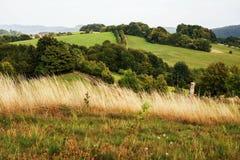 Altopiano rurale pacifico Fotografia Stock
