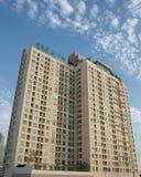 Altos apartamentos de la subida imagen de archivo libre de regalías