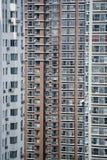 Altos apartamentos de la subida fotografía de archivo