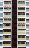 Altos apartamentos de la subida Fotografía de archivo libre de regalías