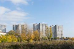 Altos bloques de apartamentos Fotografía de archivo
