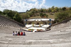 Altos de Chavón Amphitheater Royalty Free Stock Image