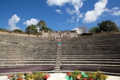 Altos de Chavón Amphitheater Royalty Free Stock Photos