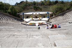 Altos de Chavón Amphitheater Stock Photo